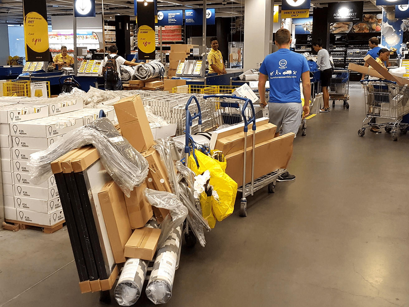 ikea click and collect service ikea delivery and assembly service in brooklyn and nyc. Black Bedroom Furniture Sets. Home Design Ideas
