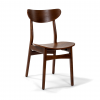 West Elm Classic Café Dining Chair, Walnut, Individual for sale