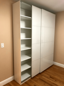 IKEA PAX unit assembly and installation. Experience the convenience and practicality of the IKEA PAX unit. With iFurnitureAssembly you can get any IKEA PAX wardrobe delivered and assembled the next day.