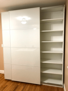 ikea pax sliding doors unit is the best option for you to save some money and space in your room. iFurnitureAssembly is happy to help you with its delivery, assembly and installation.