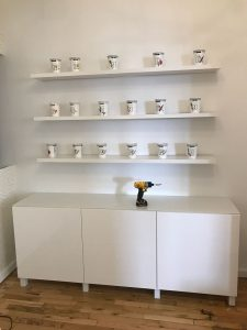 Ikea shelves wall mounting service in NYC and NJ