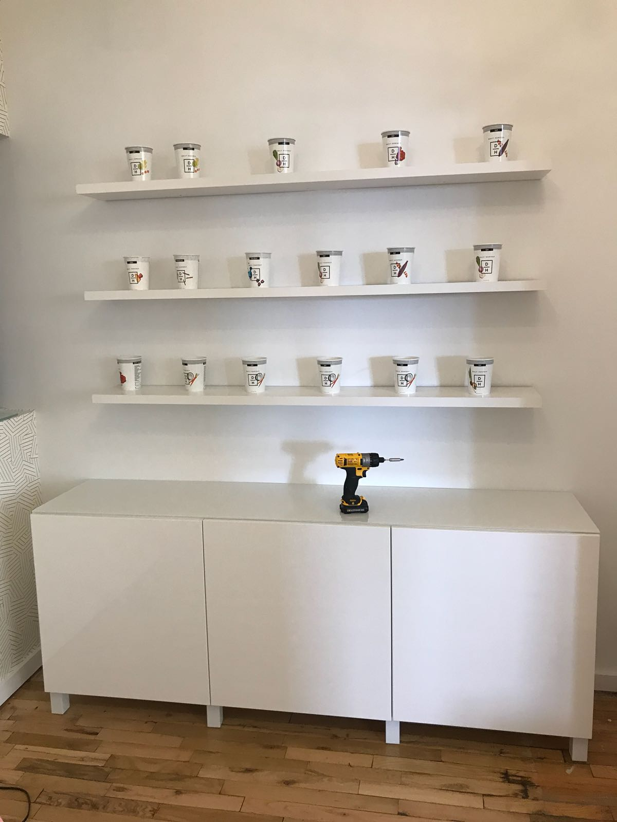 Shelves Wall Mounting Service - Furniture Delivery and