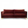 Custom sofa cover for IKEA KARLSTAD sofa in NYC