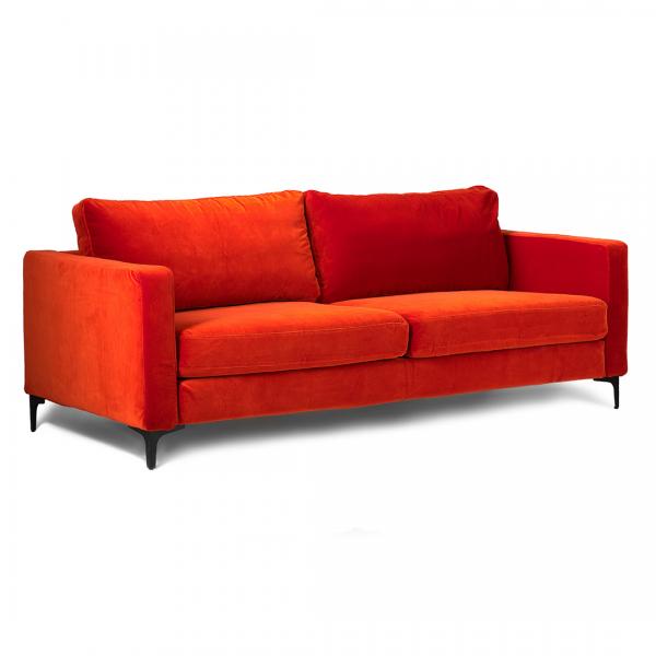 Super Custom Slipcover For Ikea Karlstad Sofa Velvet Rouge Evergreenethics Interior Chair Design Evergreenethicsorg
