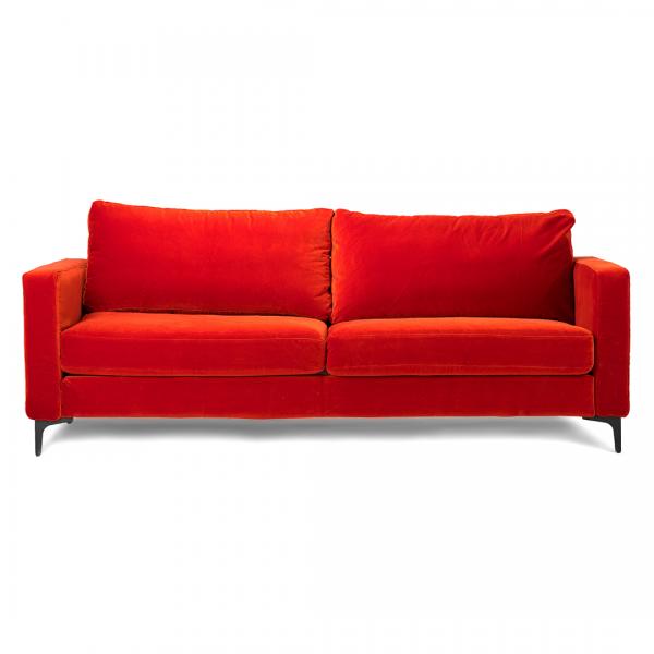 Custom slipcover for IKEA sofa in NYC